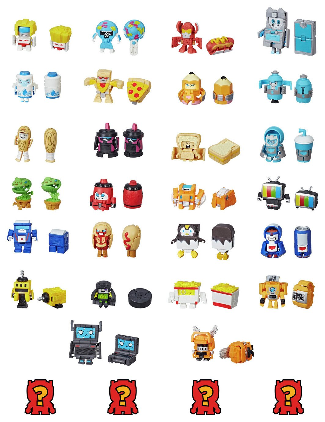 Transformers BotBots Toy 8 Pack Collectable Figures