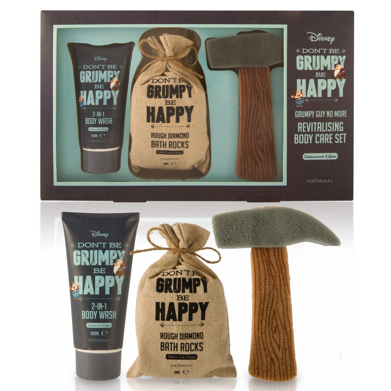 Disney 7 Dwarves Dont be Grumpy be Happy Bath Gift Set