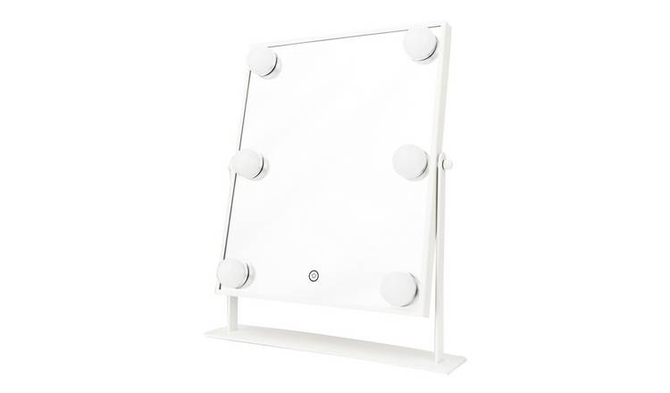 Danielle Creations White Hollywood Beauty Mirror