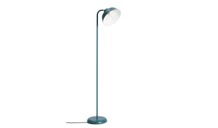 Habitat Benson Floor Lamp - Blue