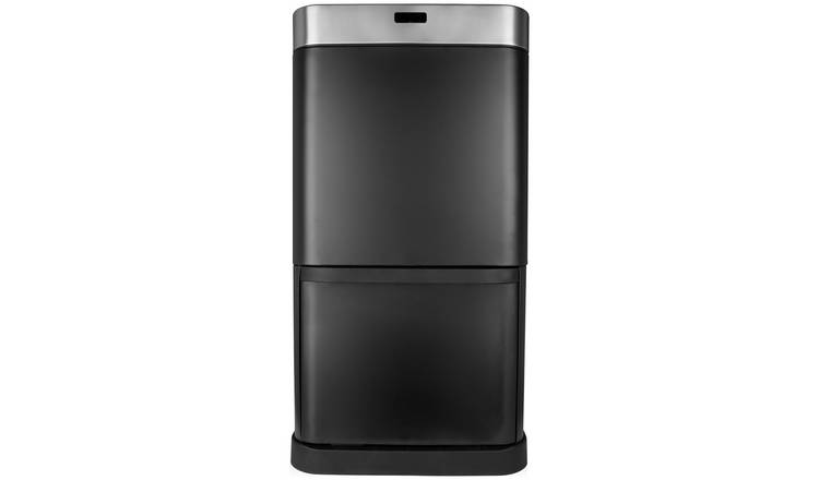 Tower 70 Litre Recycling Sensor Bin - Black