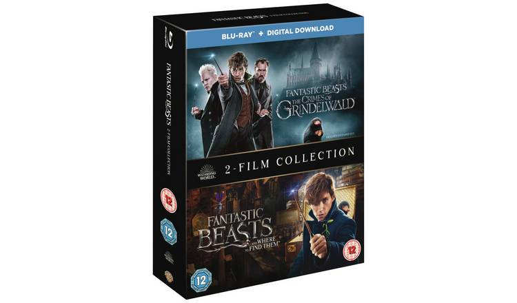 Fantastic Beasts Double Pack Blu-Ray Box Set