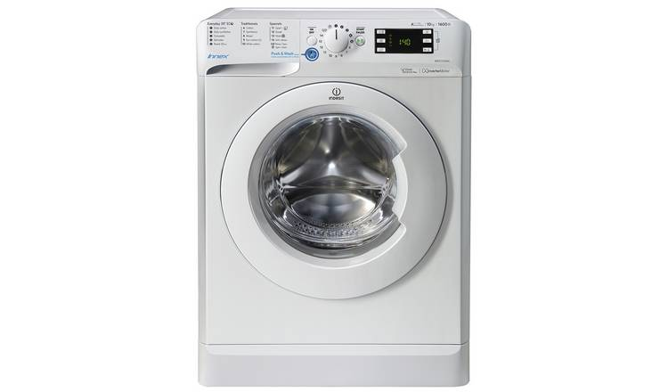 Indesit BWE101683W 10KG 1600 Spin Washing Machine - White