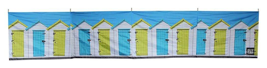 Olpro Beach Hut 5 Pole Windbreak