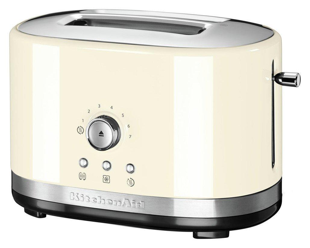 KitchenAid Manual Control 2 Slice Toaster - Almond Cream