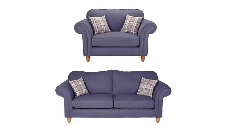 Buy Argos Home Windsor Chair & 3 Seater Sofa - Lilac | Sofa sets ...