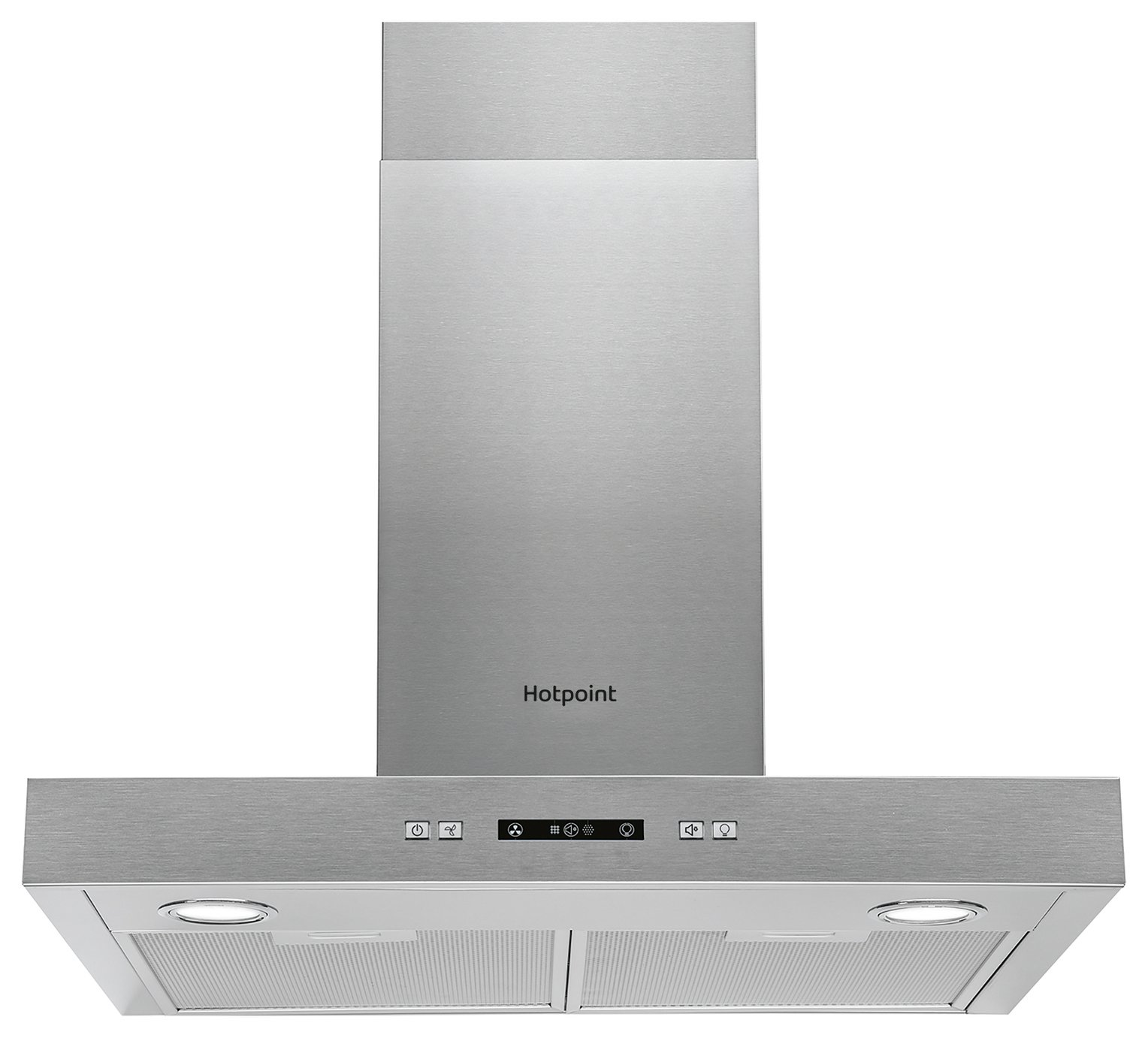 Hotpoint PHBS6.7FLLIX 60cm Cooker Hood - Stainless Steel