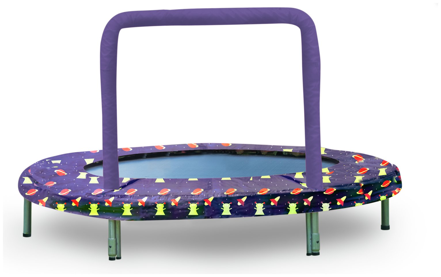 Bazoongi Space Mini Bouncer Trampoline