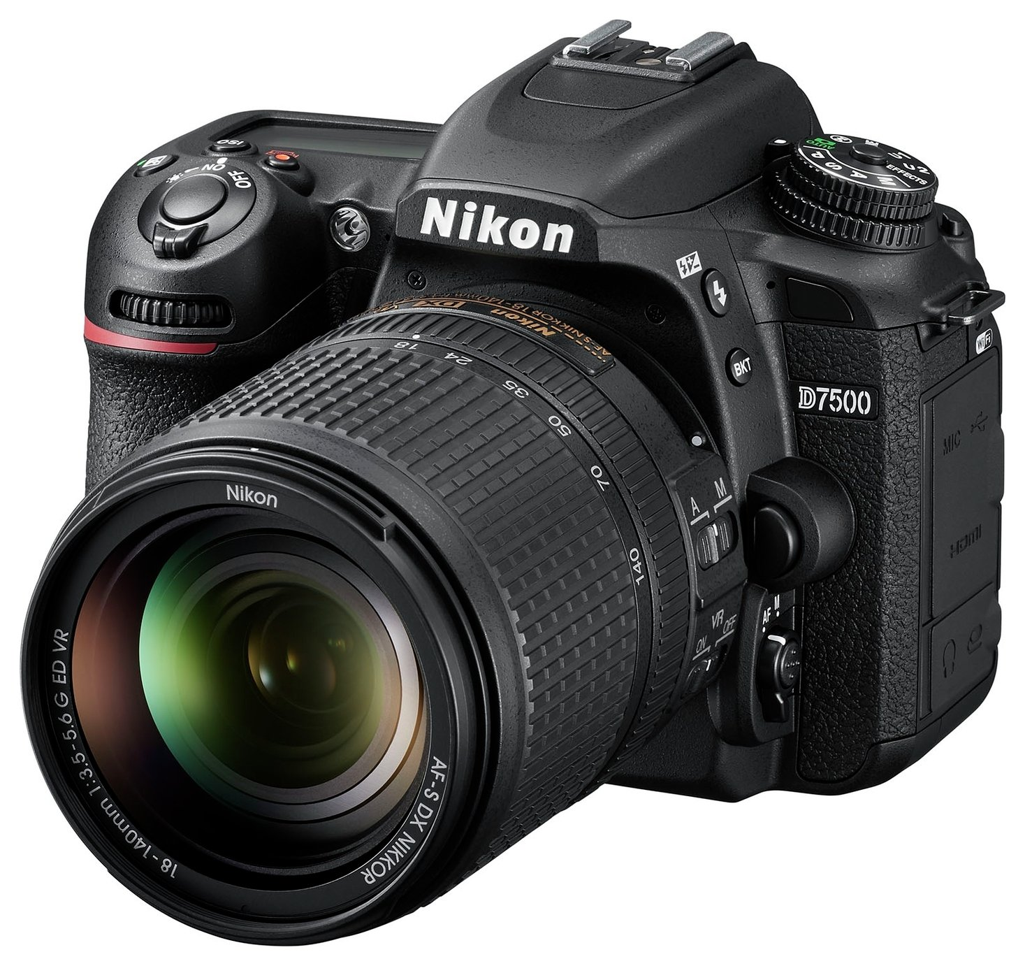 Nikon D7500 and AF-S DX NIKKOR 18 to 140 VR DSLR Camera