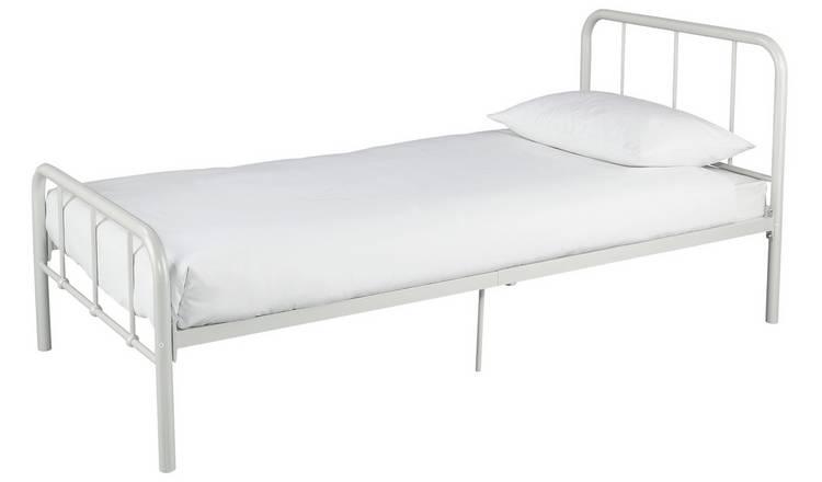 more photos 13c81 1a1ef Buy Argos Home Charlie White Single Bed & Kids Mattress | Kids beds | Argos