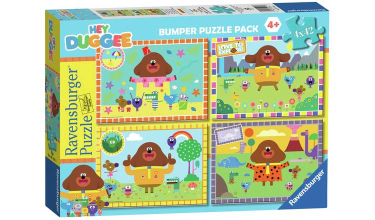 Hey Duggee 4 x 42 Piece Bumper Pack Puzzle