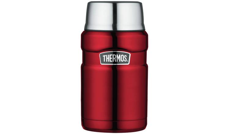 Thermos King Red Food Flask - 710ml