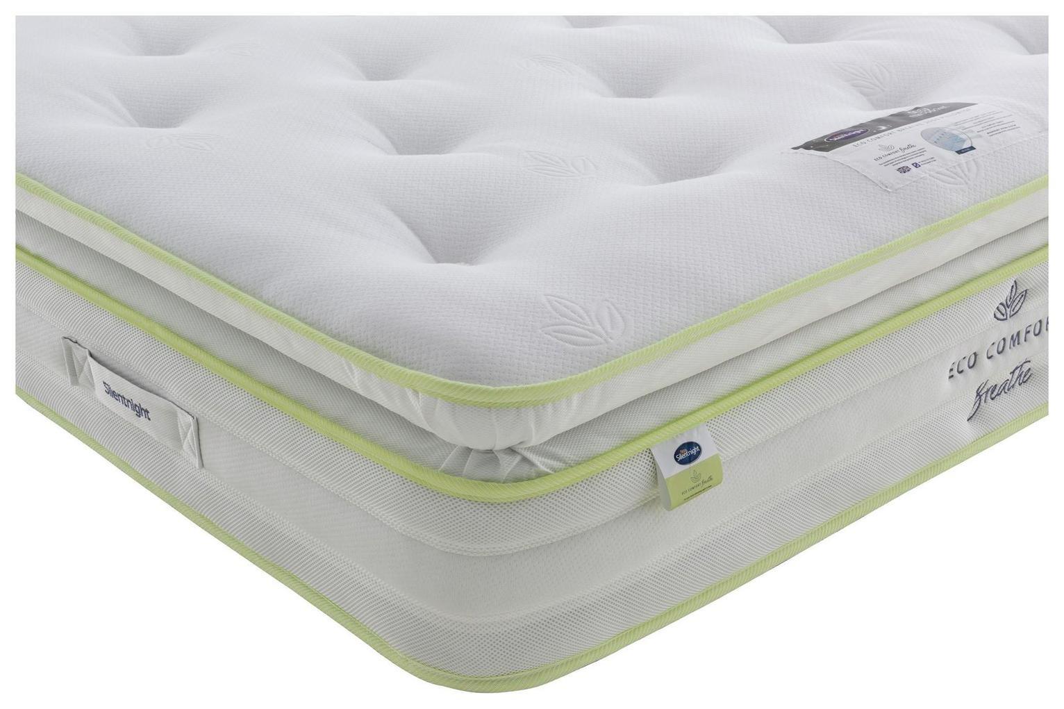 Silentnight Eco Breathe 2000 Pillowtop Superking Mattress