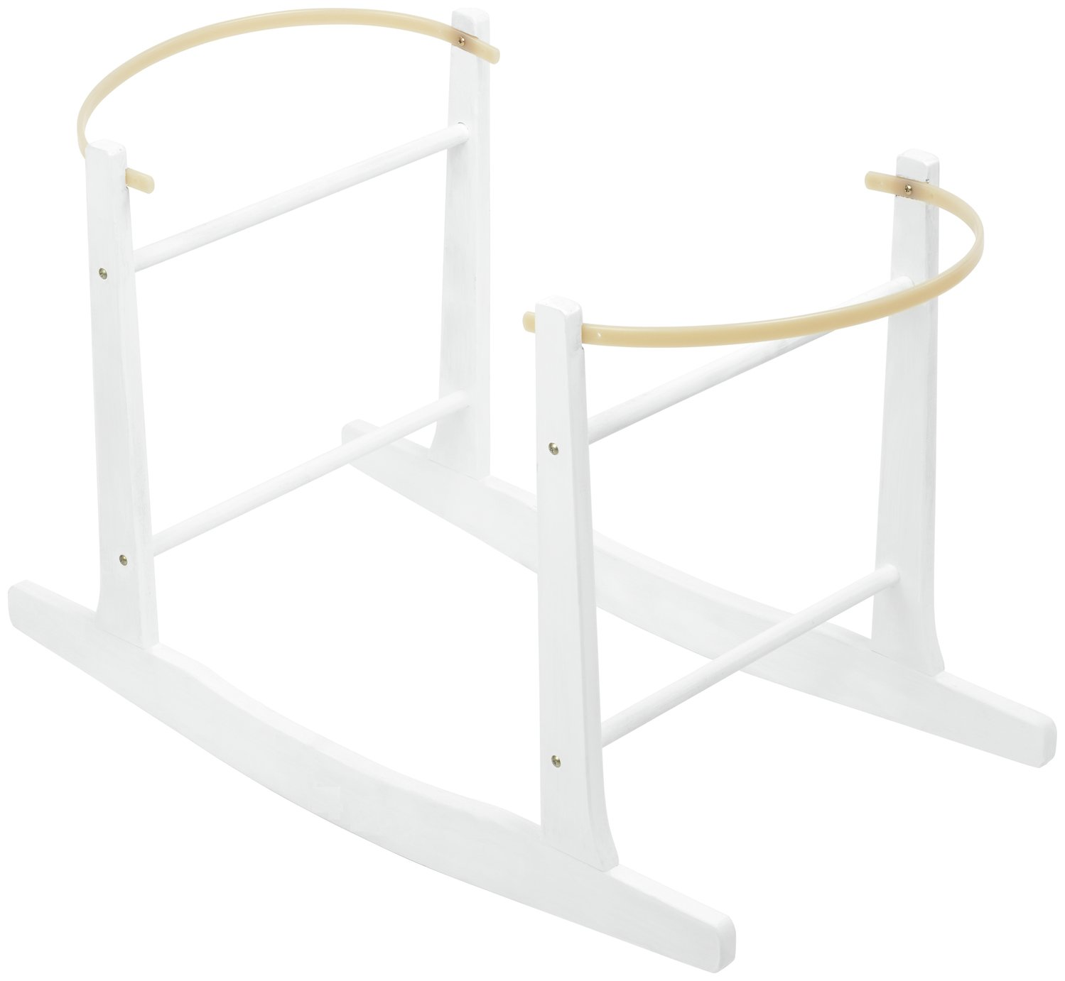 Cuggl White Wooden Rocking Stand