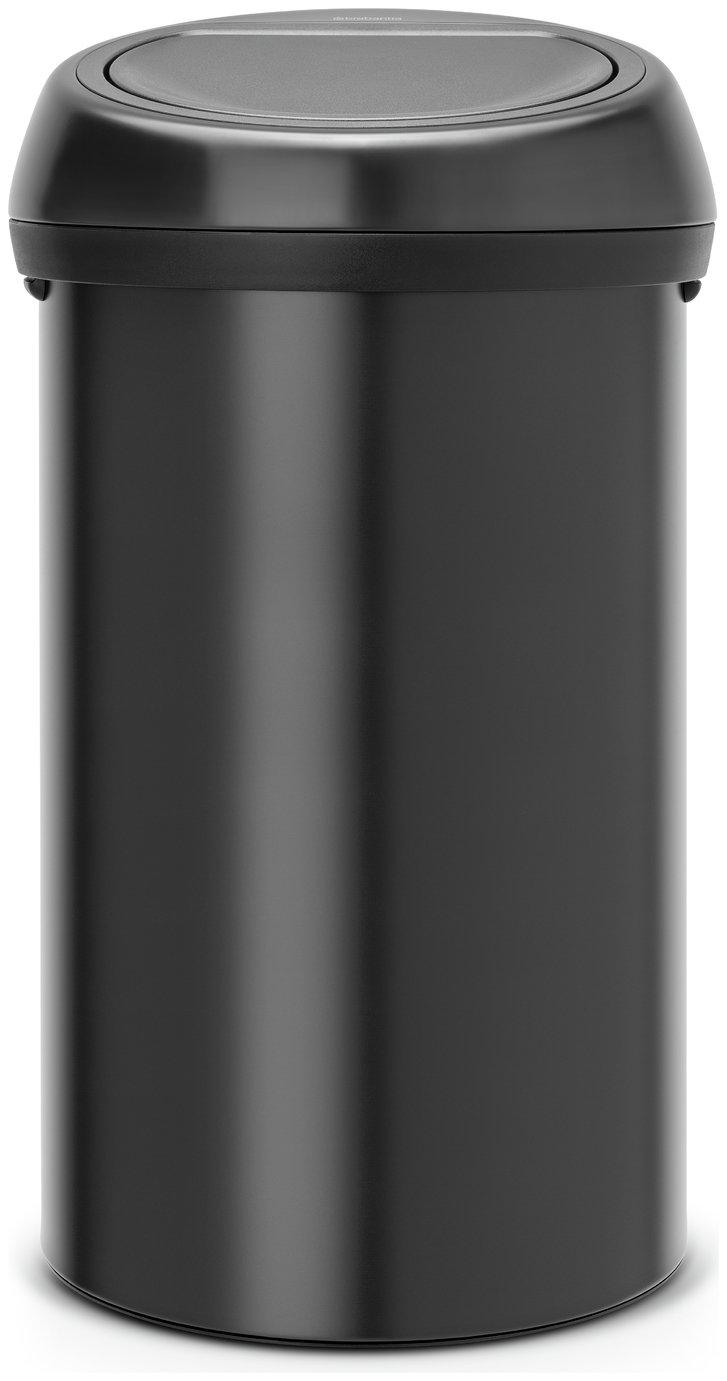 Brabantia 60 Litre Soft Touch Top Bin - Matte Black
