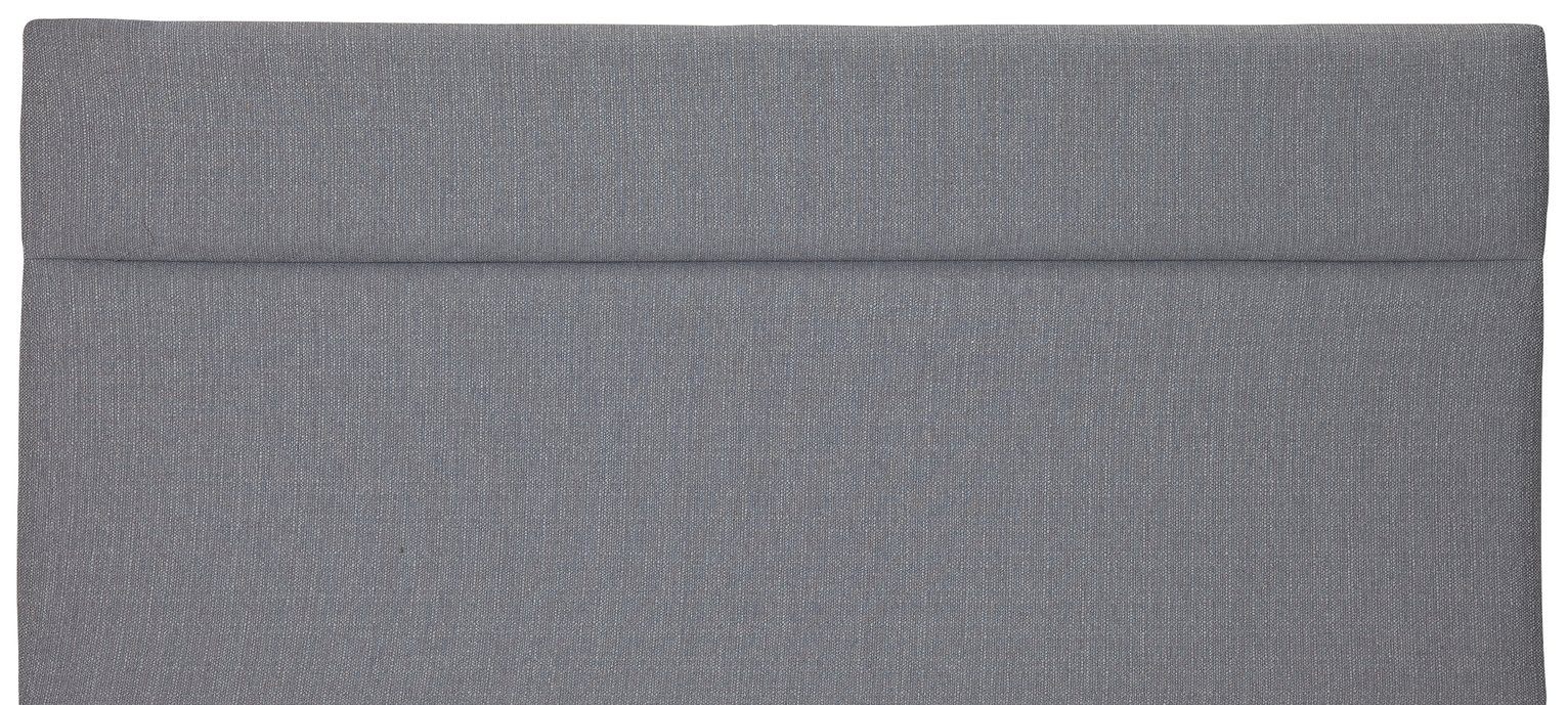 Airsprung Winslow Grey Double Headboard