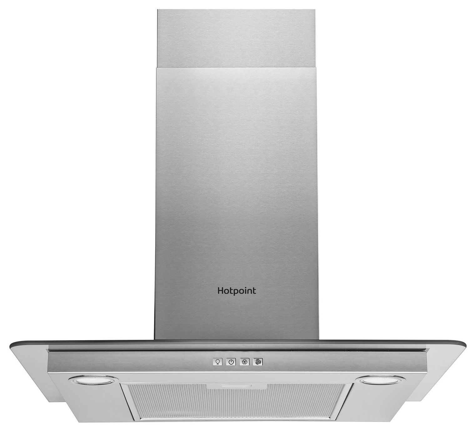 Hotpoint PHFG6.4FLMX 60cm Cooker Hood - Stainless Steel