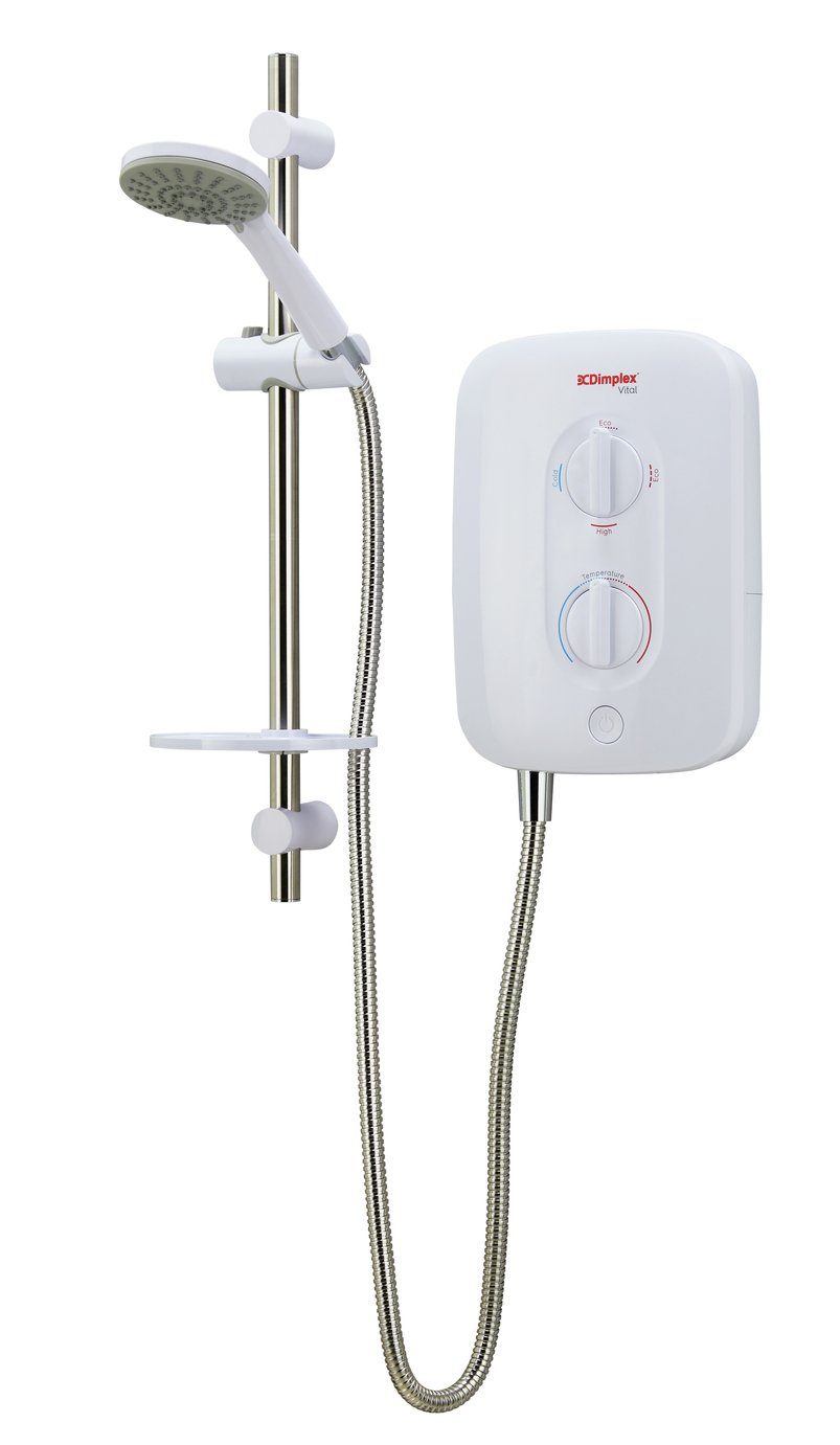 Dimplex Vital DL Stop Start 9.5kW Electric Shower