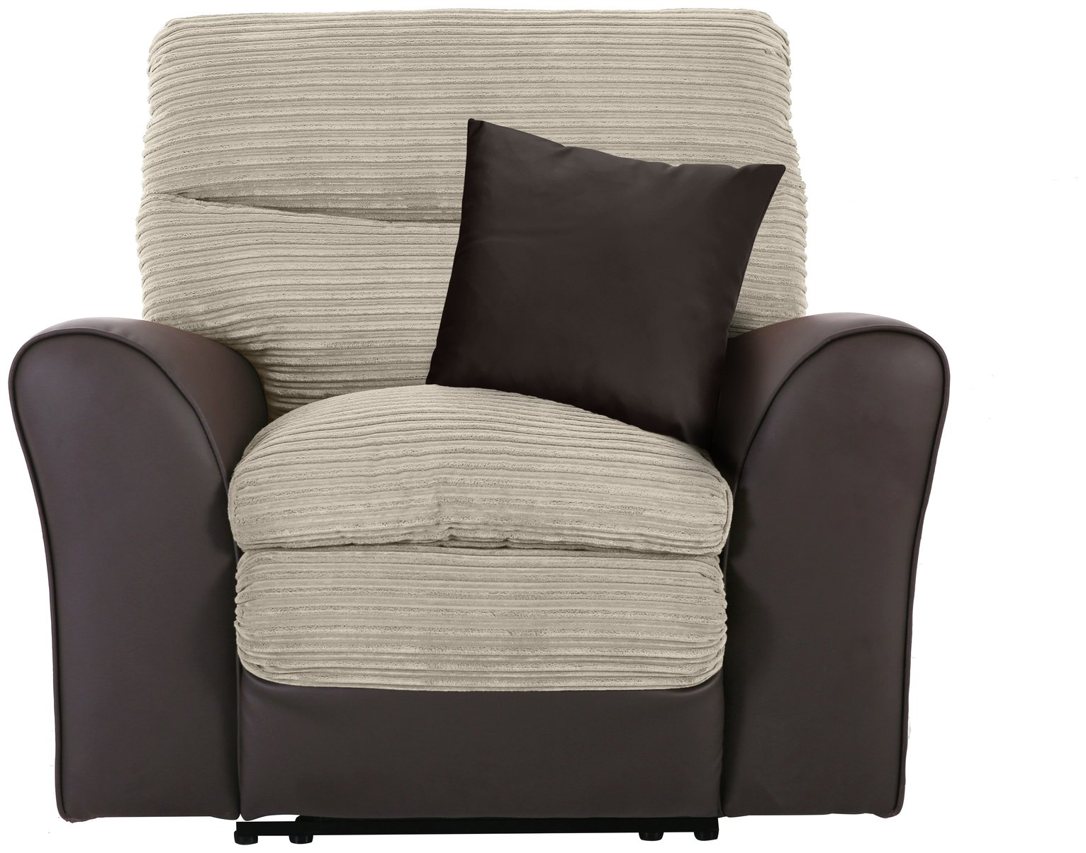 Argos Home Harry Fabric Recliner Chair - Mink