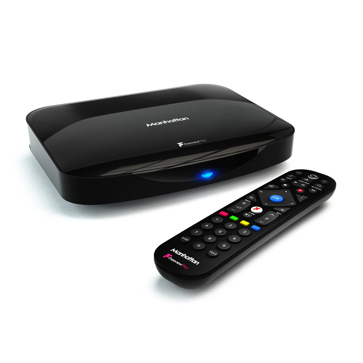 Manhattan T3-R 500GB Freeview Play 4K Smart Recorder