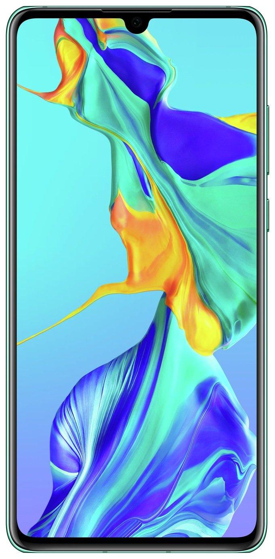 SIM Free Huawei P30 128GB Mobile Phone - Aurora