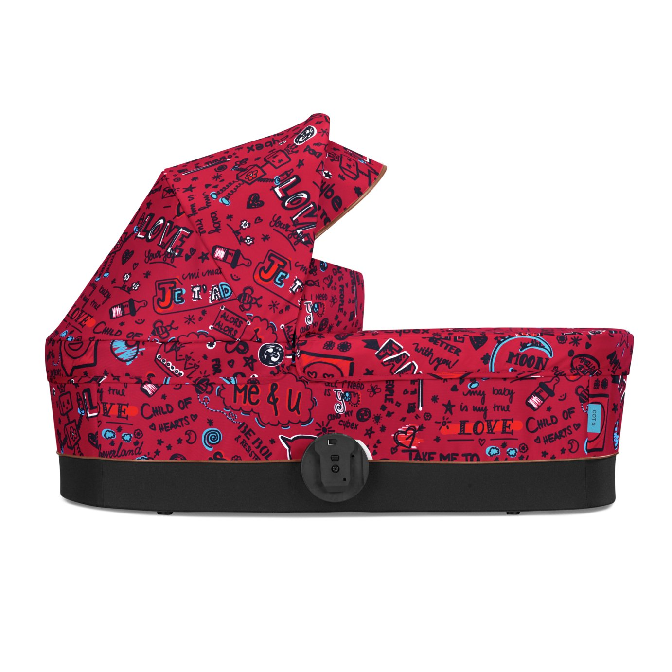 Cybex Cot S Special Edition Carry Cot - Love Red