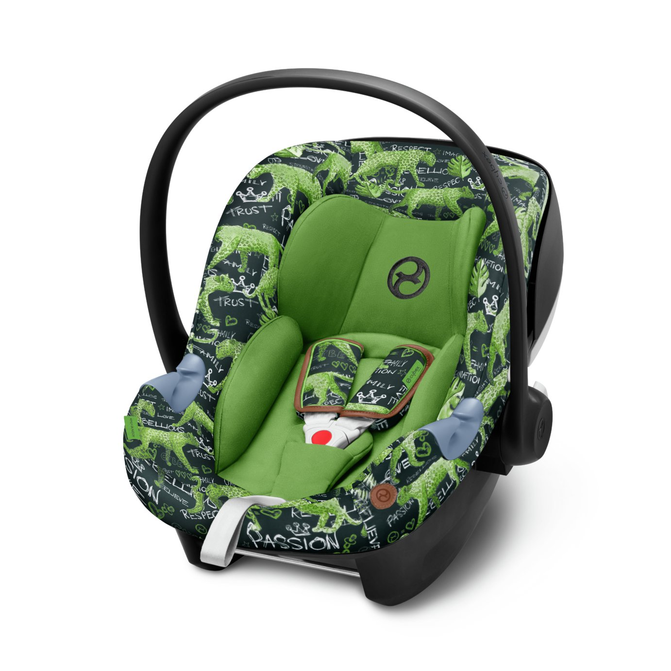 Cybex Aton M i-Size Special Ed. Gr.0+ Car Seat-Respect Green