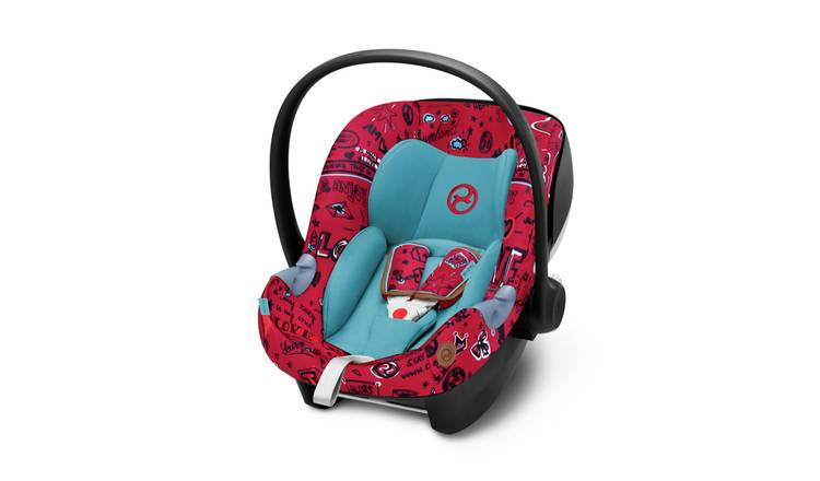 Cybex Aton M Group 0+ i-Size Car Seat - Love Red