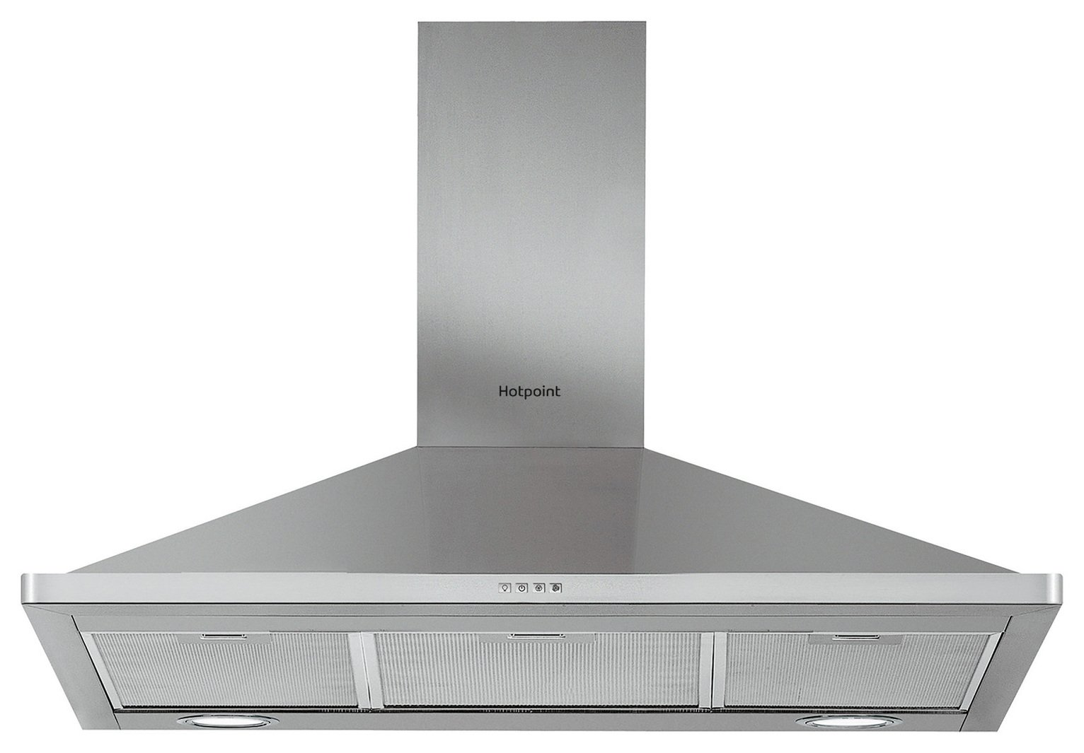 Hotpoint PHPN9.5FLMX 90cm Cooker Hood - Stanless Steel