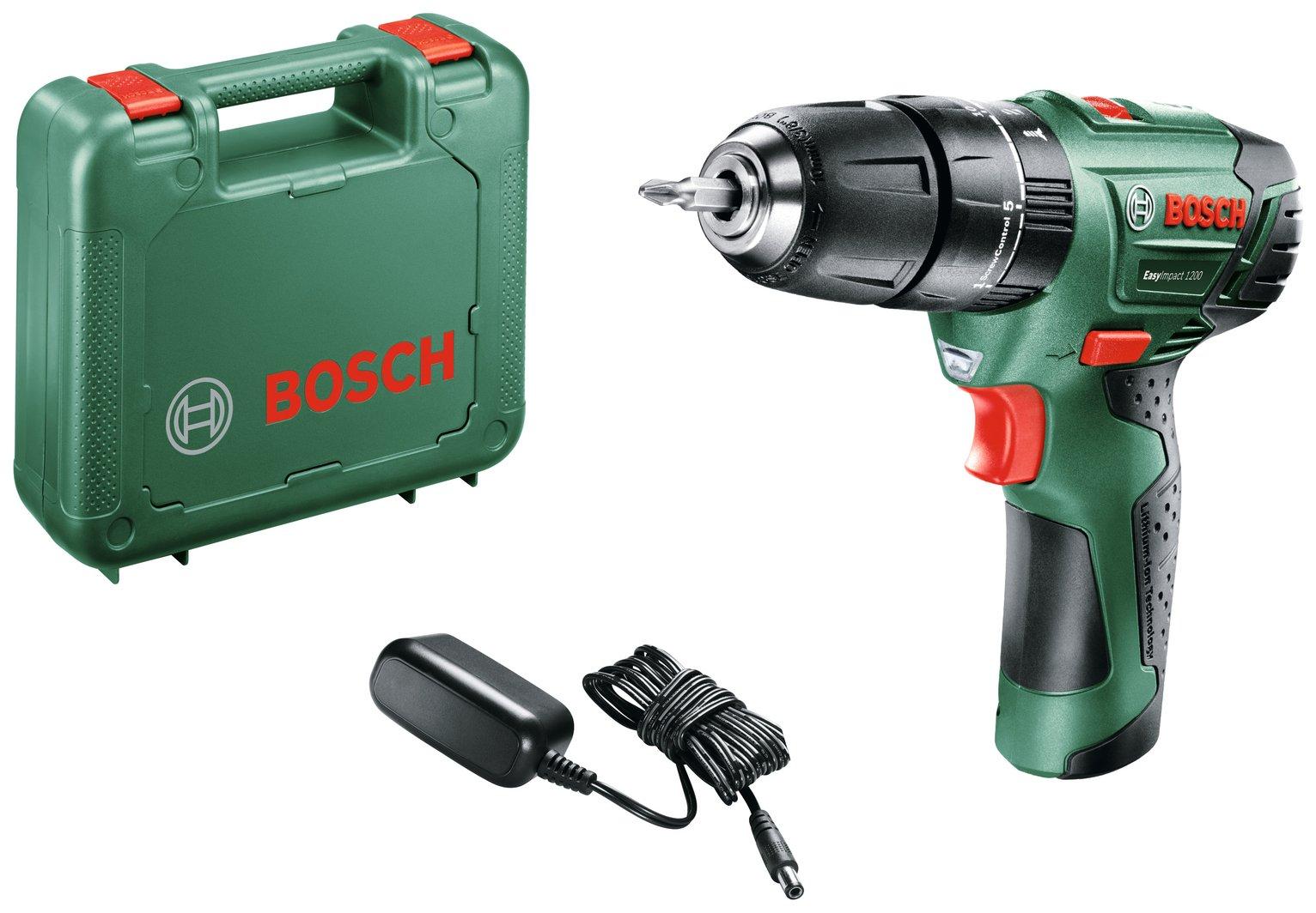 Bosch EasyImpact 1.5Ah Cordless Hammer Drill - 12V