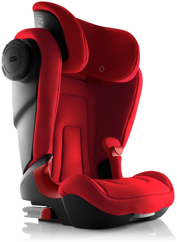 Britax Romer KIDFIX S Group 2-3 Car Seat - Fire Red