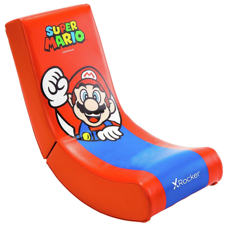 X Rocker Video Rocker Junior Gaming Chair - Mario