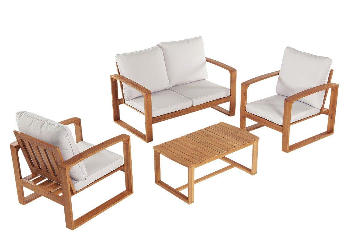 Greenhurst Rimini Garden Sofa Set - Natural