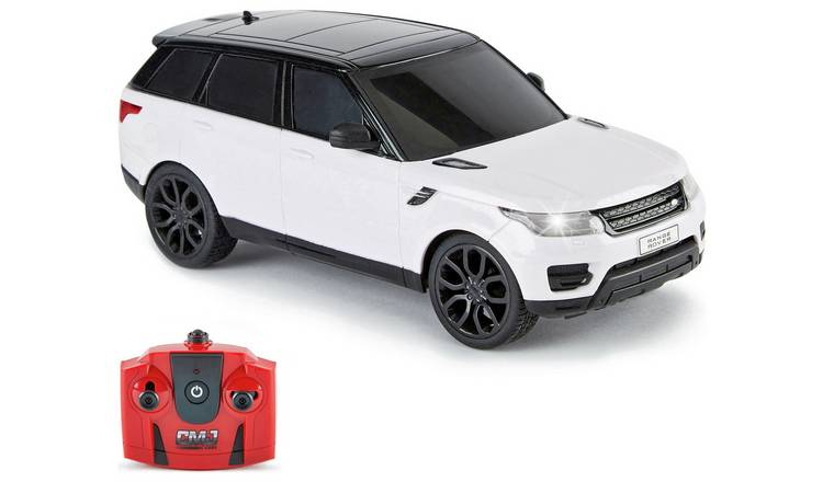 Range Rover 1:24 Radio Controlled Sports Car - White