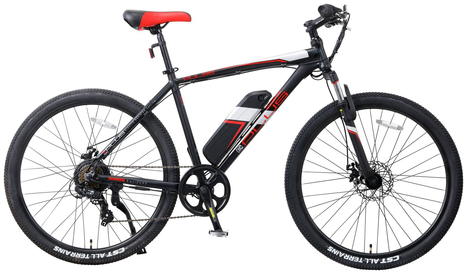 Image of E-Plus Pulse 27.5 Inch 36V Electric Mountain Bike