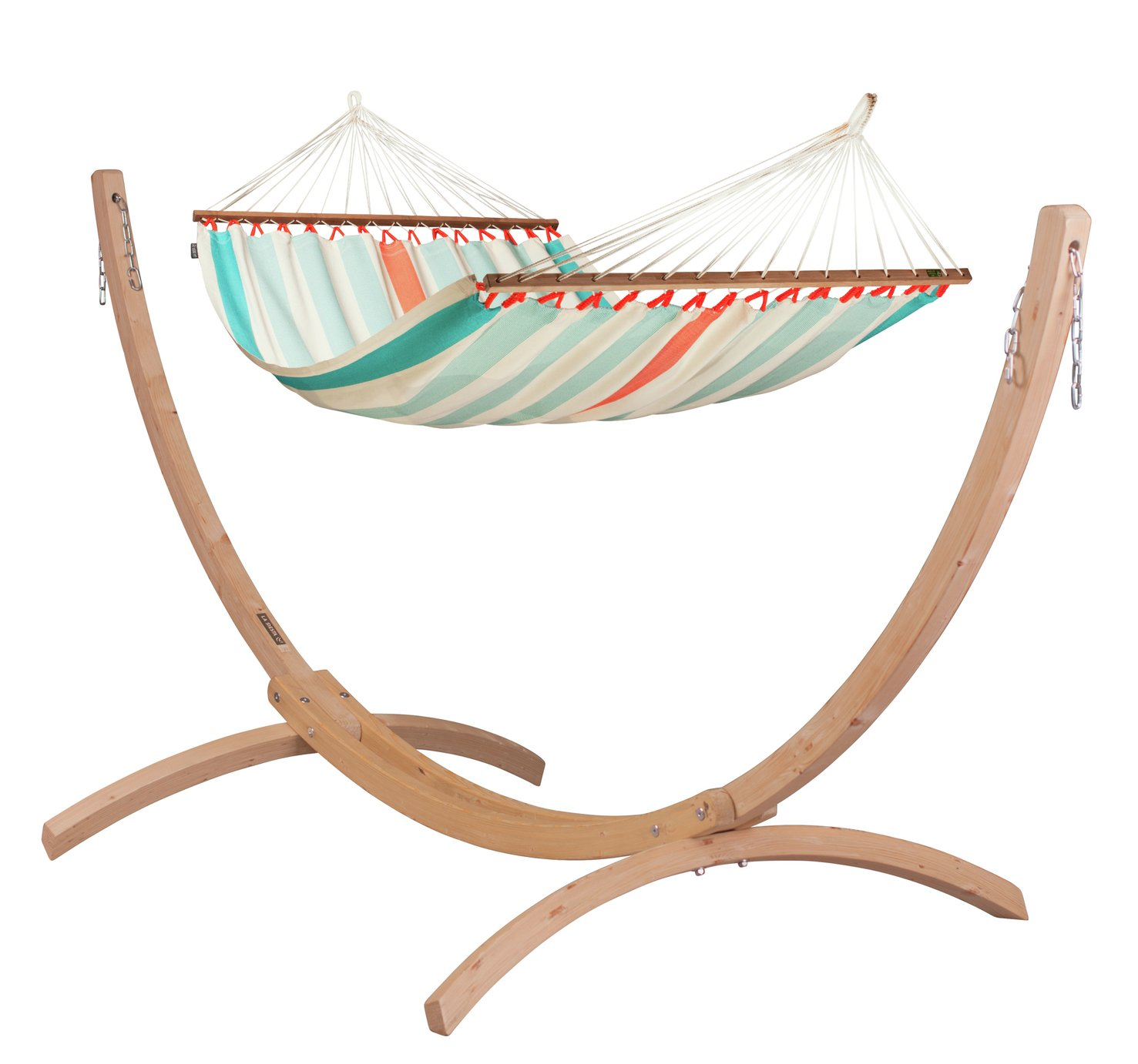 La Siesta Colada Double Hammock - Striped