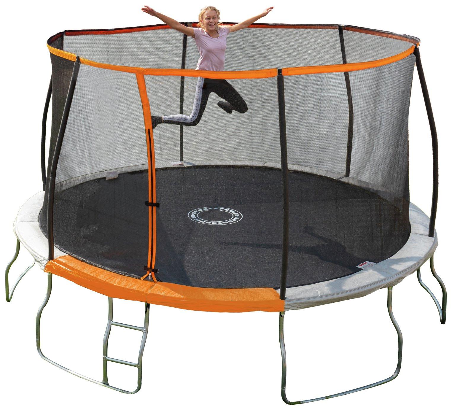 Sportspower 14ft Folding Trampoline