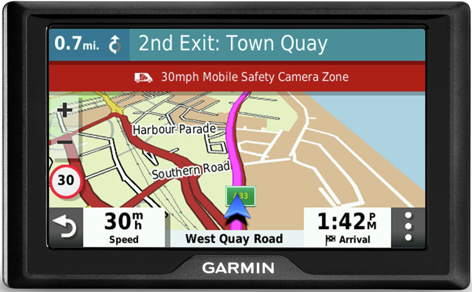Garmin Drive 52 MT-S 5 Inch UK & ROI Lifetime Maps Sat Nav