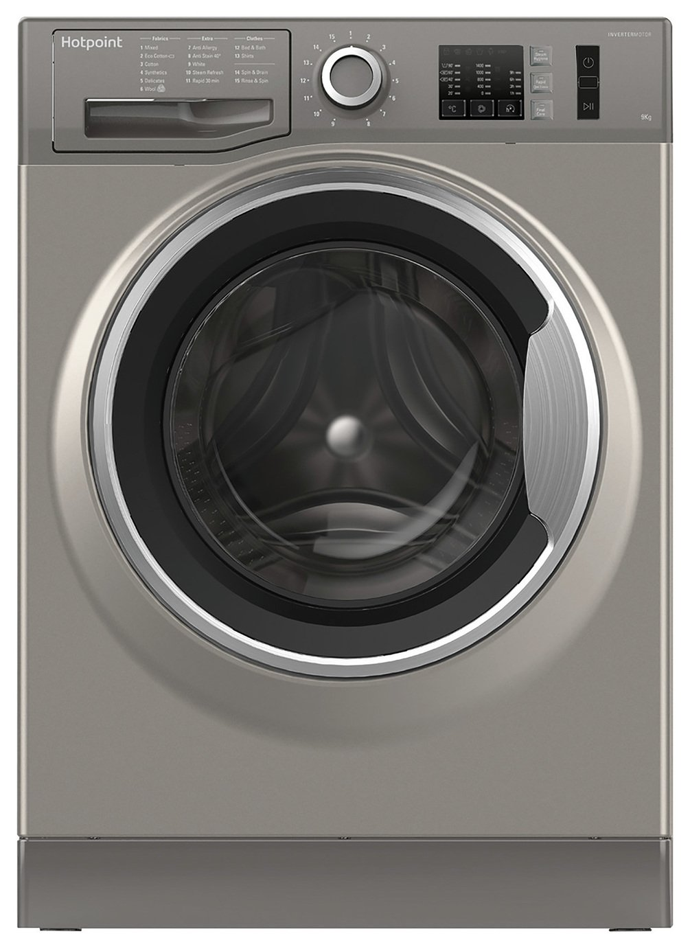 Hotpoint NM10944GSUK 9KG 1400 Spin Washing Machine -Graphite
