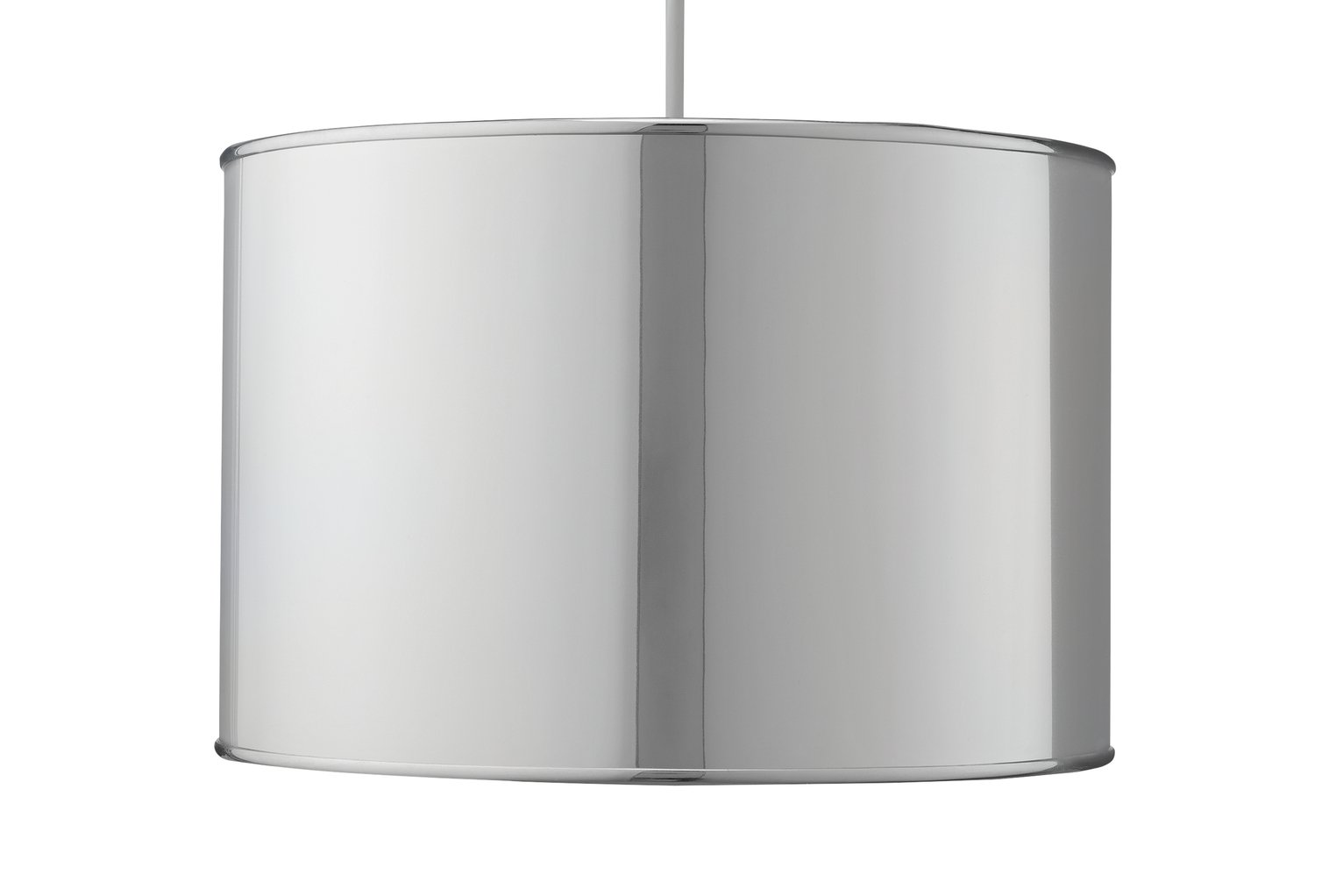 Argos Home Palm Luxe Shade - Chrome