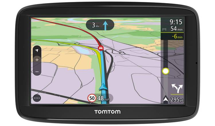TomTom VIA 52 5in Traffic Western EU Lifetime Maps Sat Nav