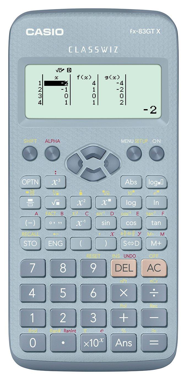 Casio FX-83GTX Scientific Calculator - Blue