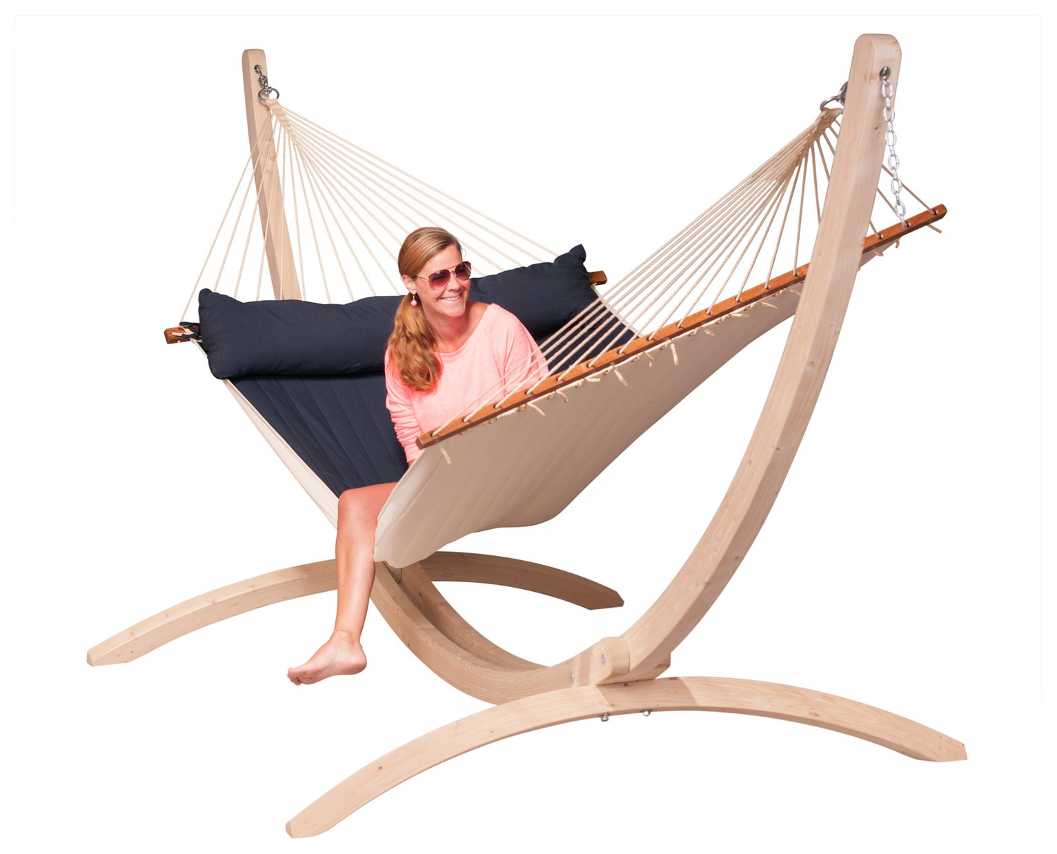 La Siesta Alabama Kingsize Hammock - Navy Blue