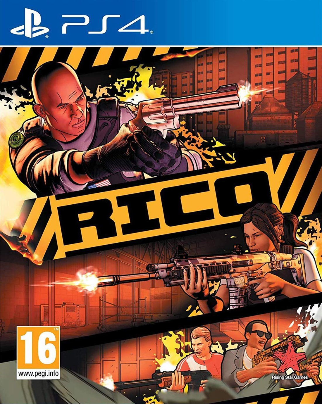 RICO PS4 Game