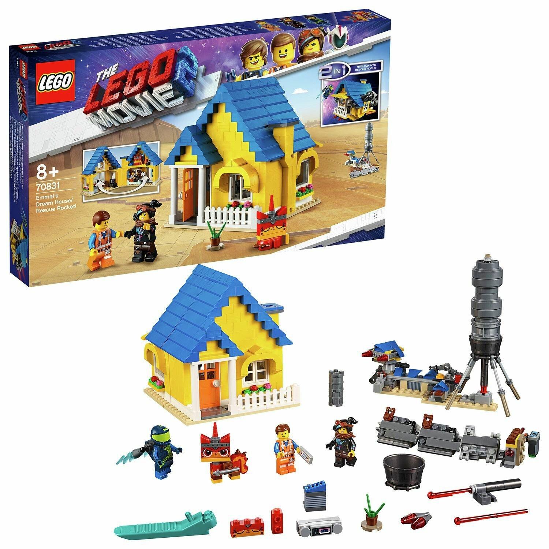LEGO Movie 2 Emmet's Dream Toy House Building Set - 70831