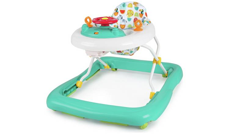 Chad Valley Jungle Deluxe Baby Walker With Lights & Sounds