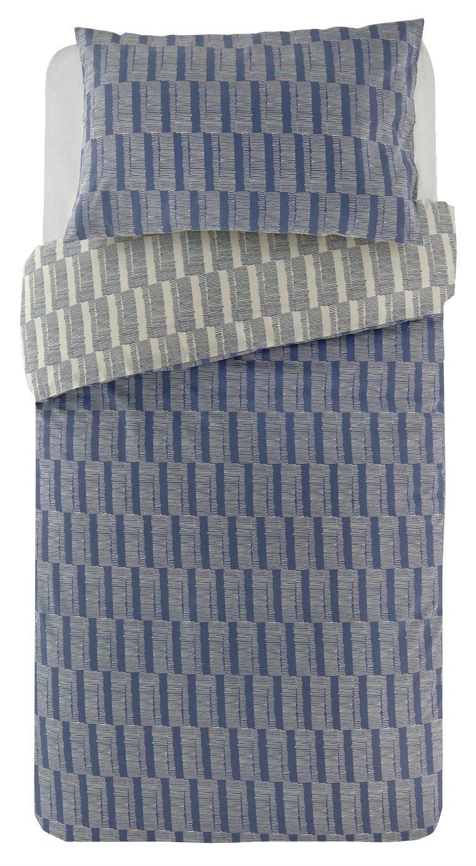 Argos Home Blue Sticks Bedding Set - Single
