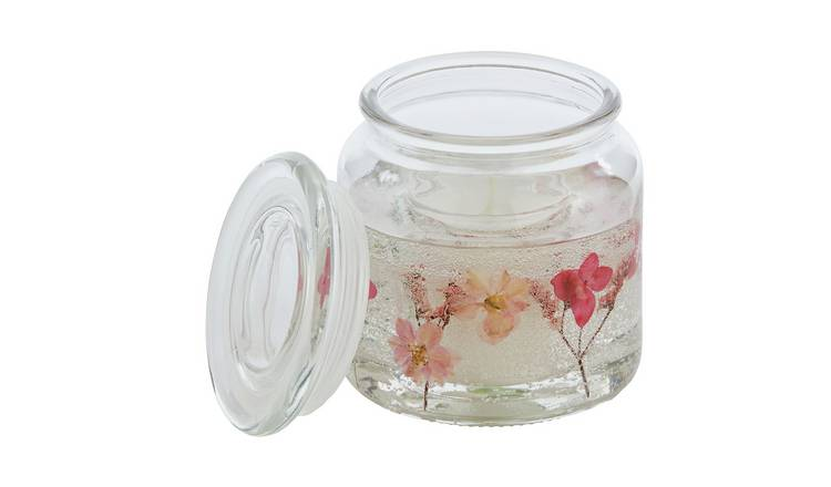 Argos Home Peony & Rose Gel Candle