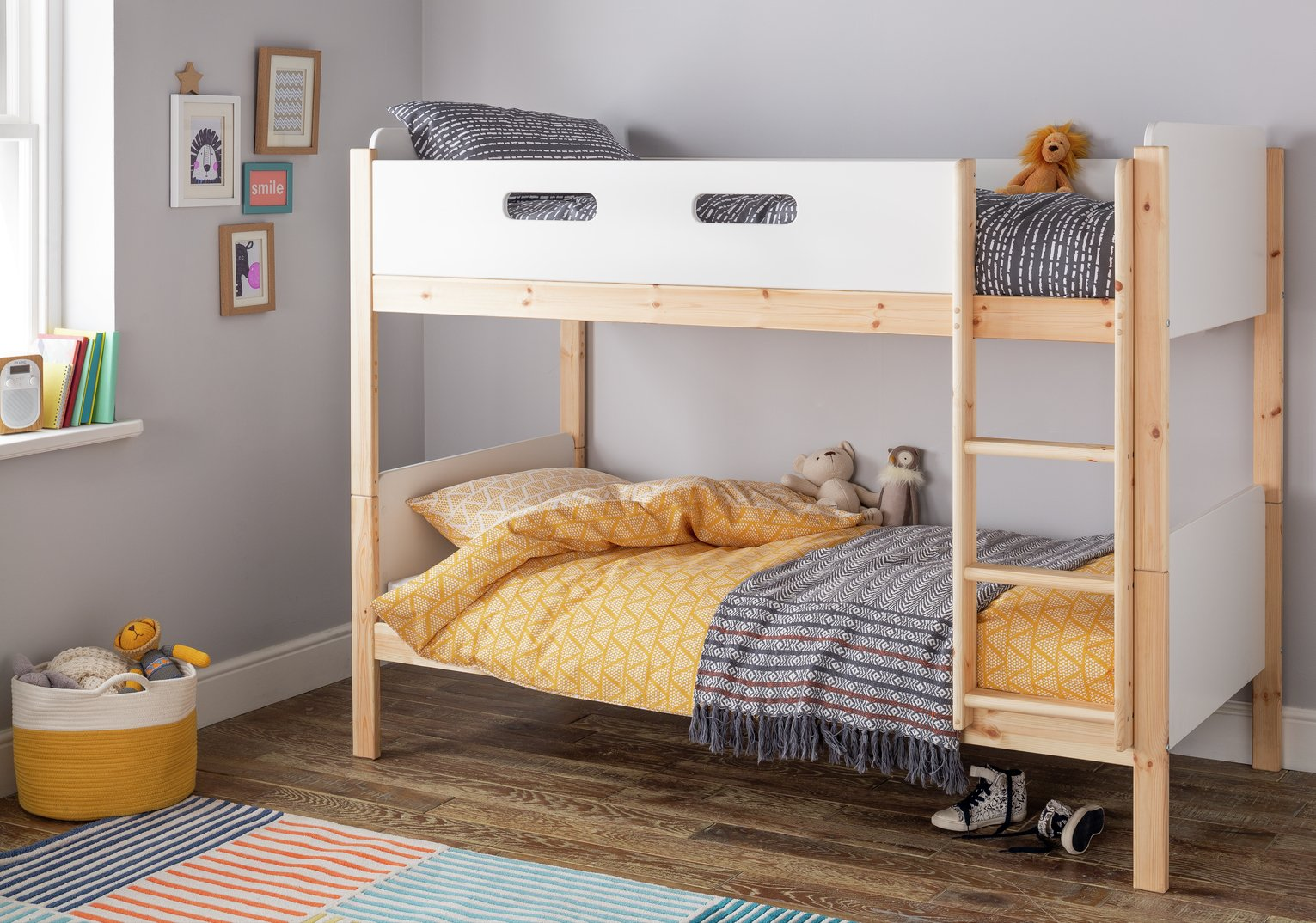 Picture of: Argos Home Arlo White Pine Bunk Bed 8866624 Argos Price Tracker Pricehistory Co Uk