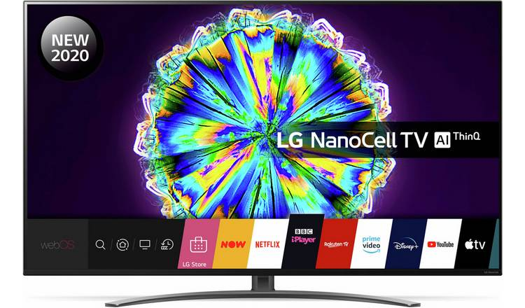 LG 65 Inch 65NANO86 Smart 4K Ultra HD LED TV with HDR